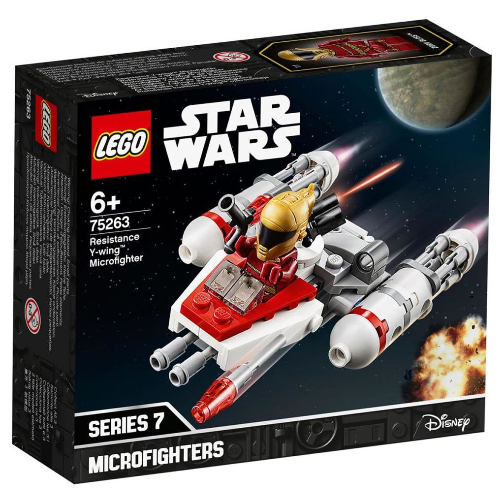 LEGO 樂高積木 Star Wars 75263 Resistance Y-wing™ Microfighter
