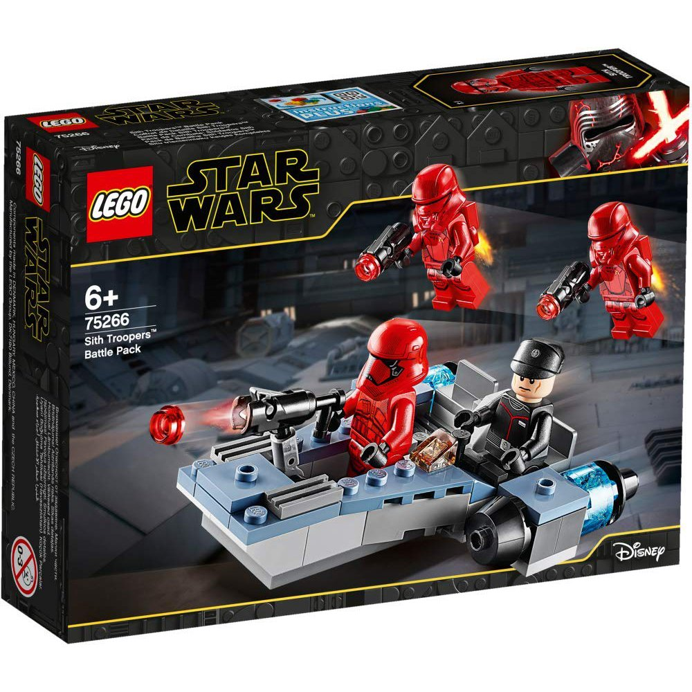 LEGO 樂高積木 Star Wars LT75266 Sith Troopers™ Battle Pack