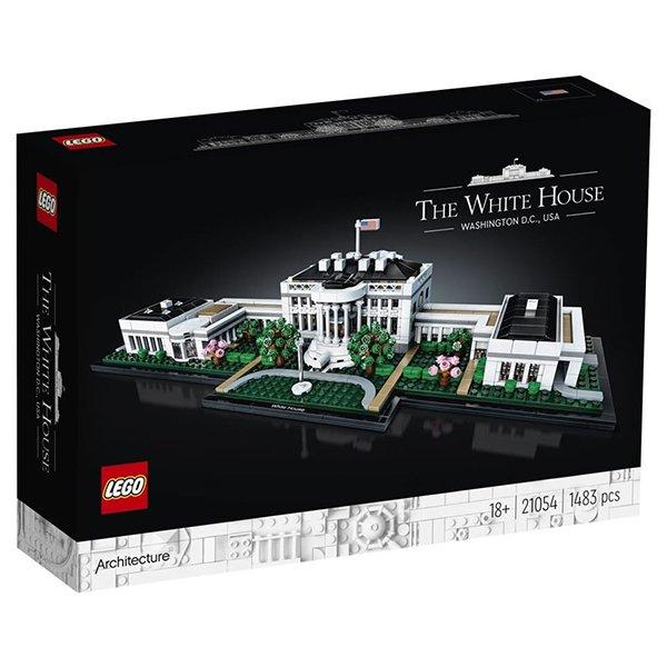 LEGO 樂高積木 Architecture 建築系列 21054 白宮