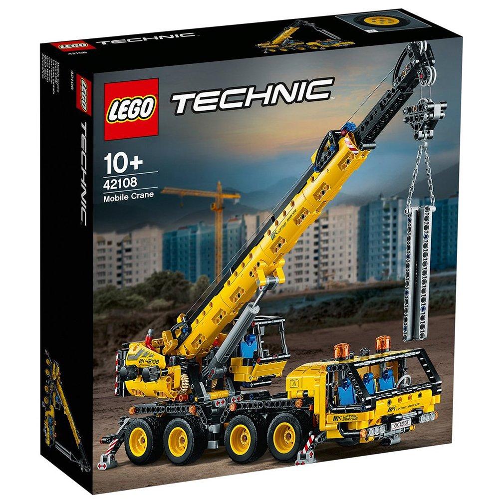 LEGO 樂高積木 Technic 42108 移動式起重機