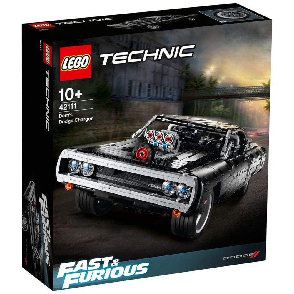 LEGO 樂高積木 Technic 42111 Dom's Dodge Charger 唐老大的道奇 Charger