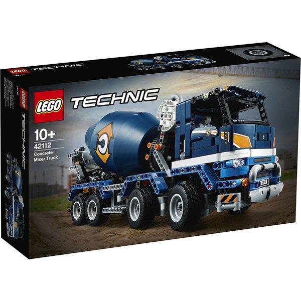 LEGO樂高積木Technic42112水泥攪拌車