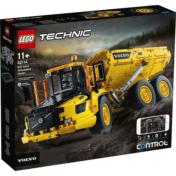 LEGOTechnic42114 6x6VolvoArticulatedHauler
