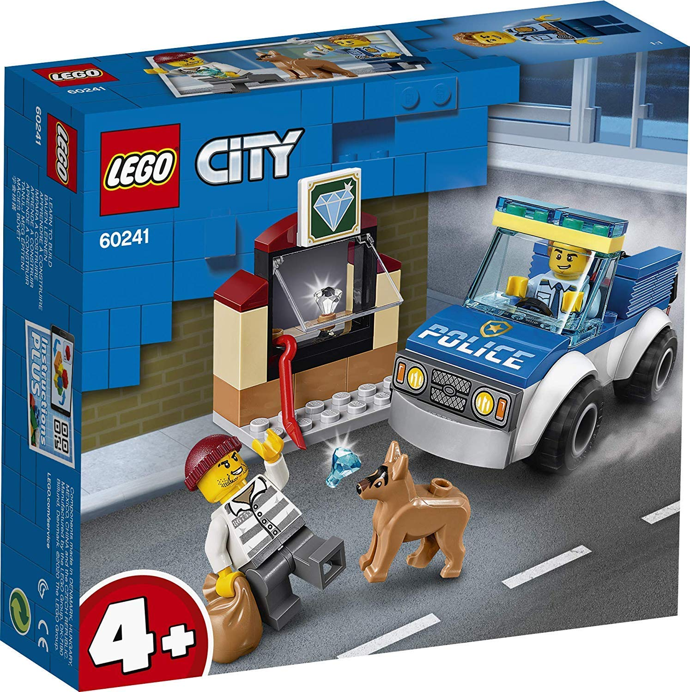 LEGO 樂高積木 City Police 60241 警犬隊