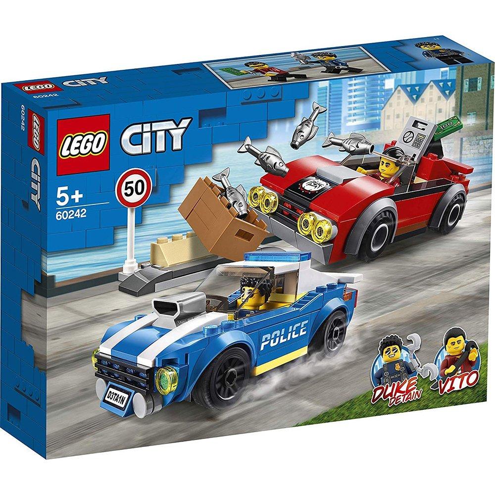 LEGO 樂高積木 City Police 60242 警察高速公路追捕戰