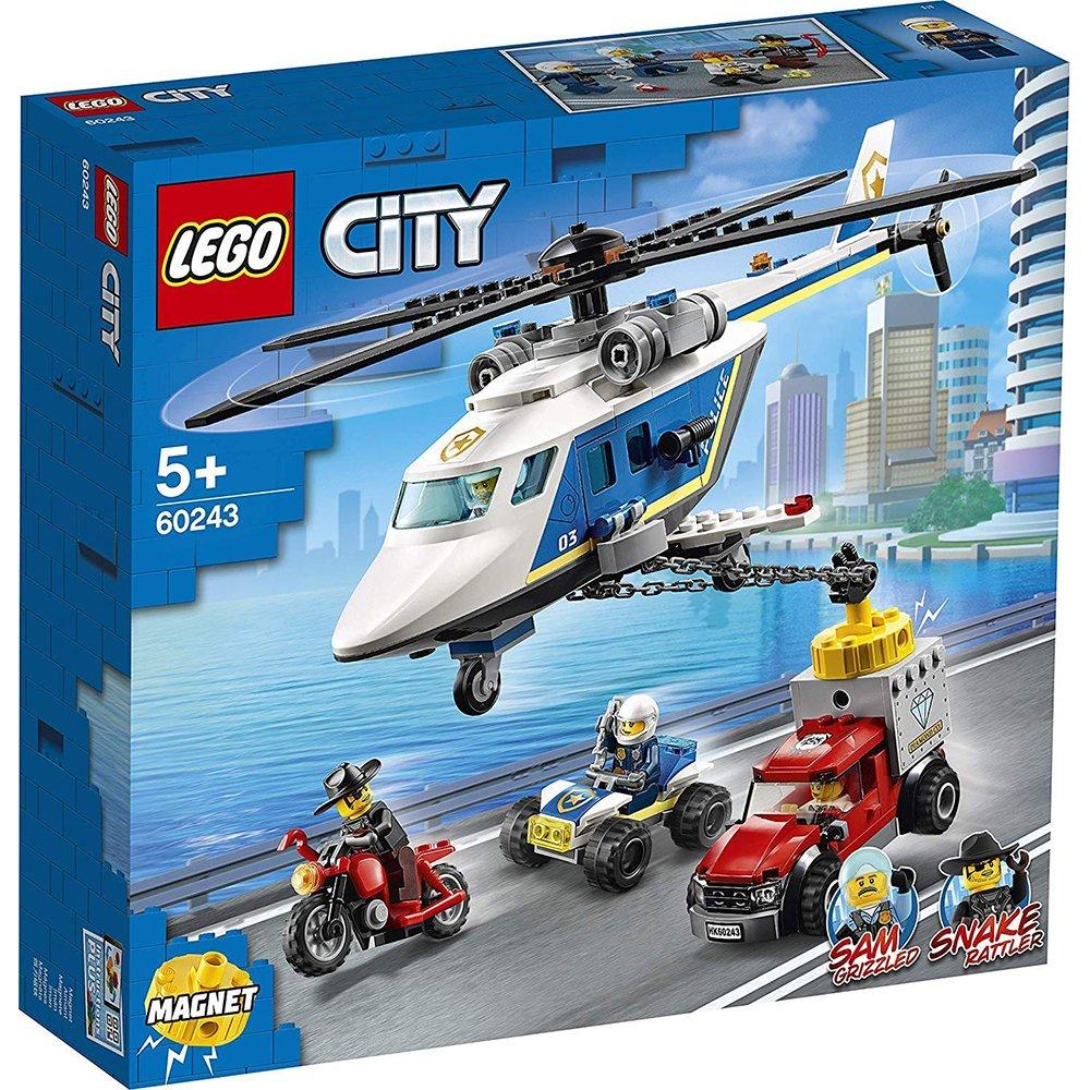 LEGO 樂高積木 City Police 60243 警察直升機追擊戰