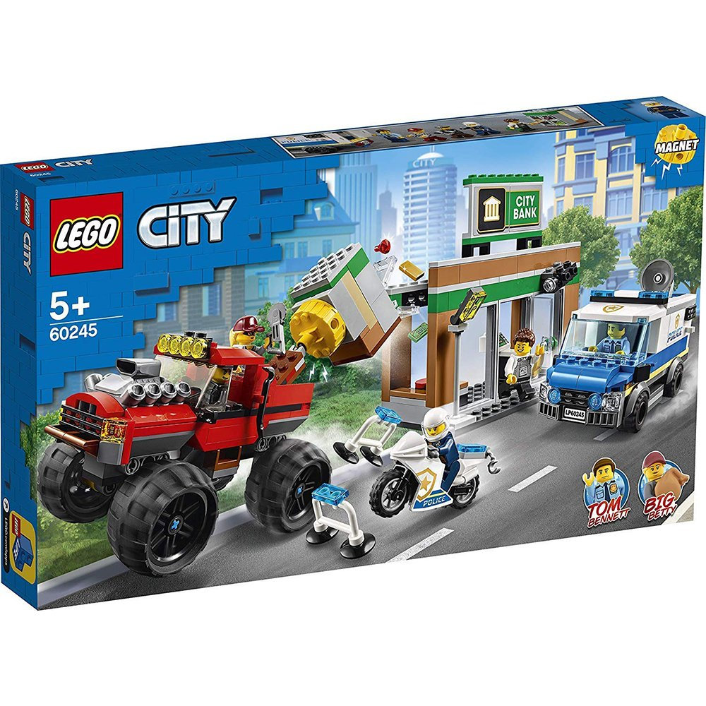 LEGO 樂高積木 City Police 60245 警察巨輪卡車搶案