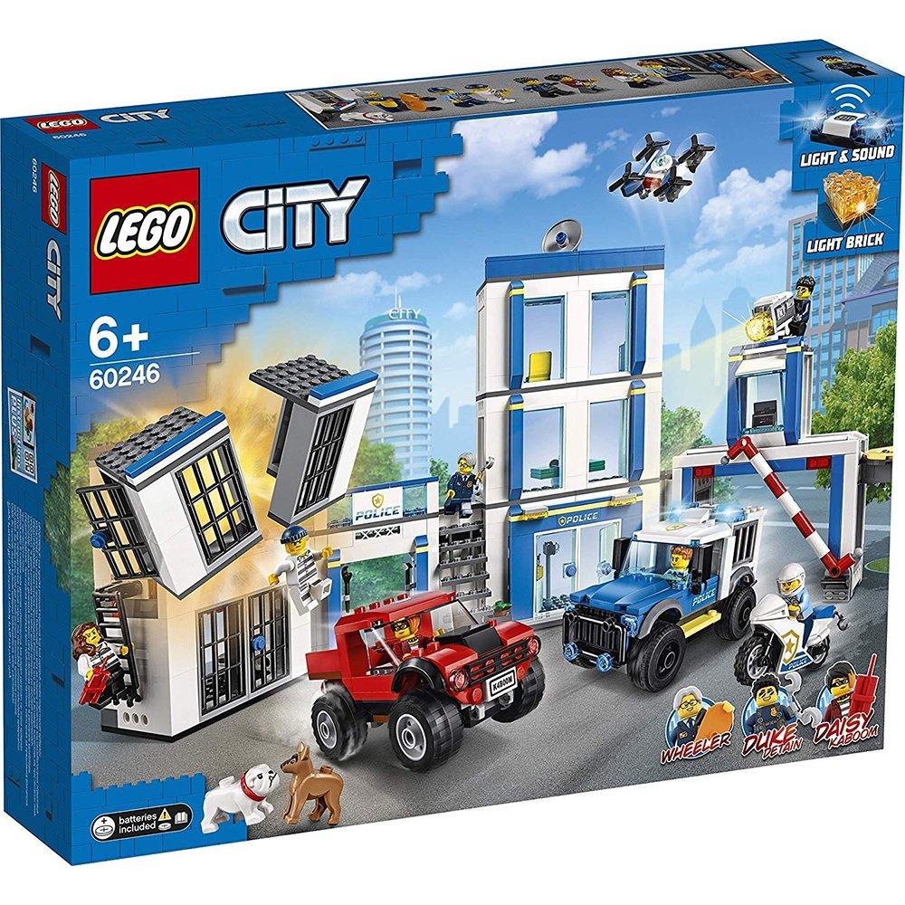 LEGO 樂高積木 City Police 60246 警察局