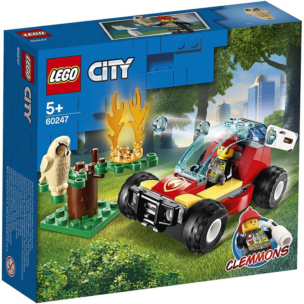 LEGO 樂高積木 City 60247 森林火災