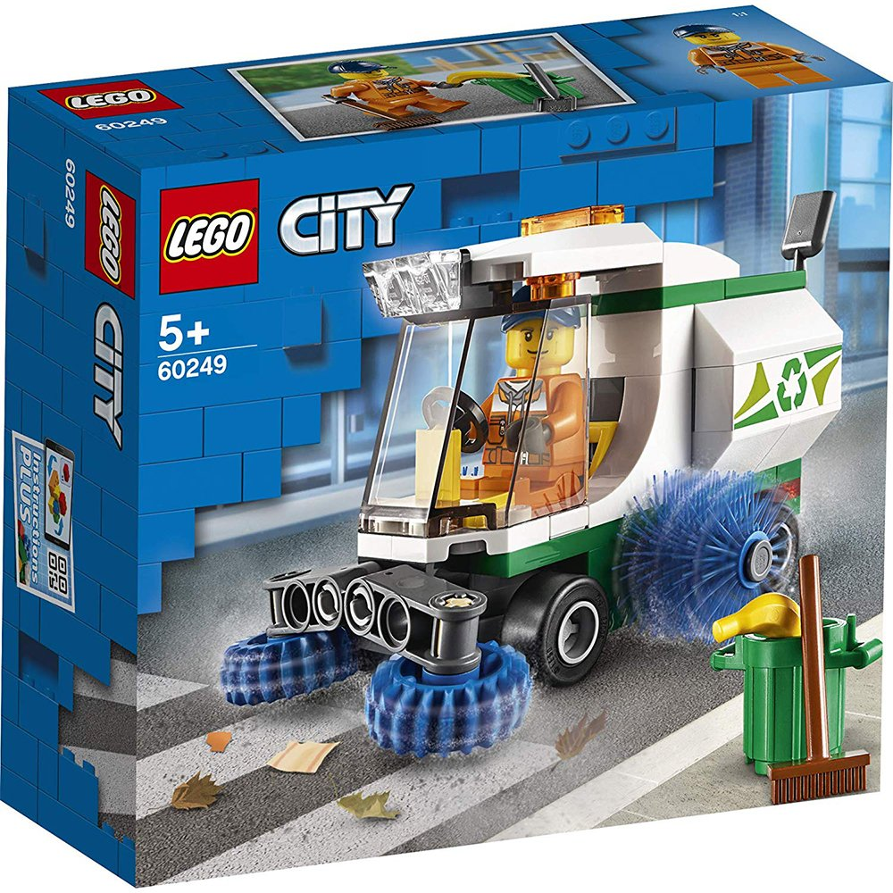 LEGO 樂高積木 City 60249 清道夫