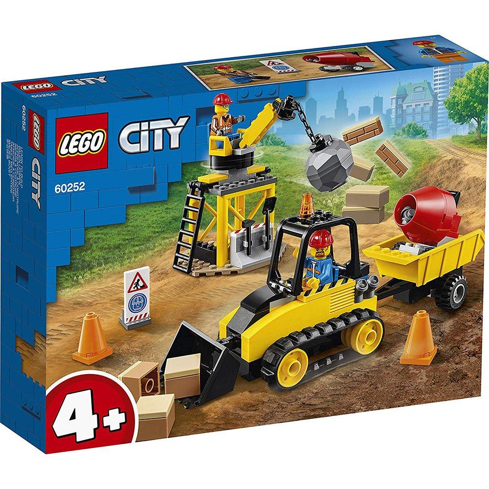 LEGO 樂高積木 City 60252 工程推土機