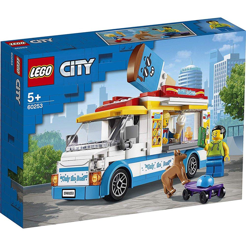 LEGO 樂高積木 City 60253 冰淇淋車