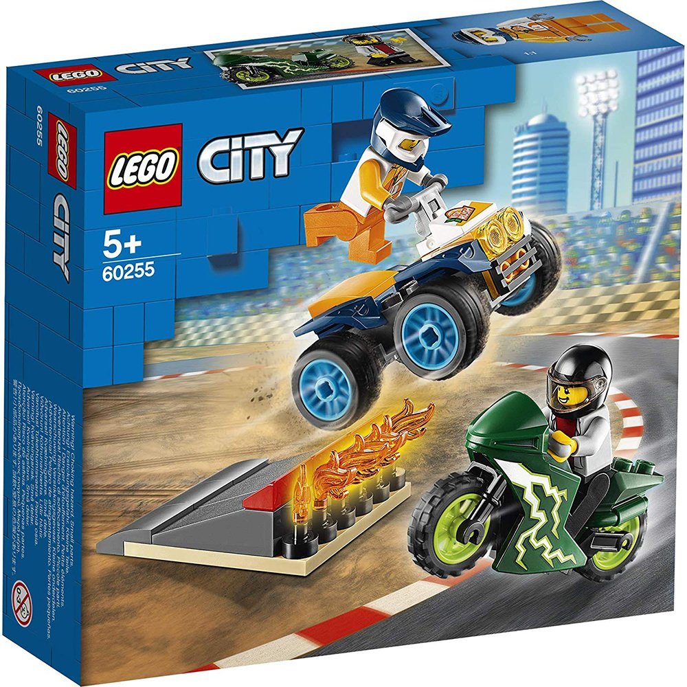 LEGO 樂高積木 City 60255 特技賽車團隊