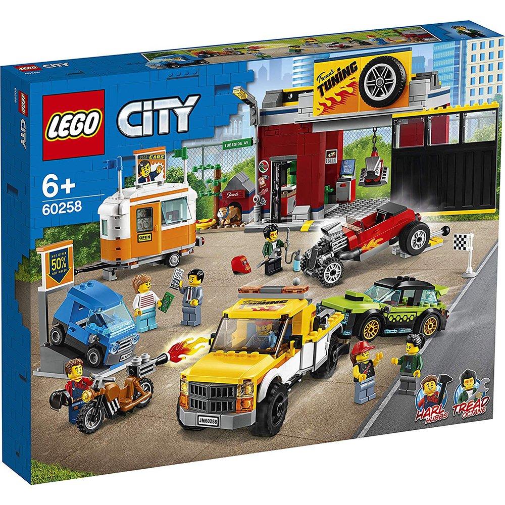 LEGO 樂高積木 City 60258 賽車改裝廠