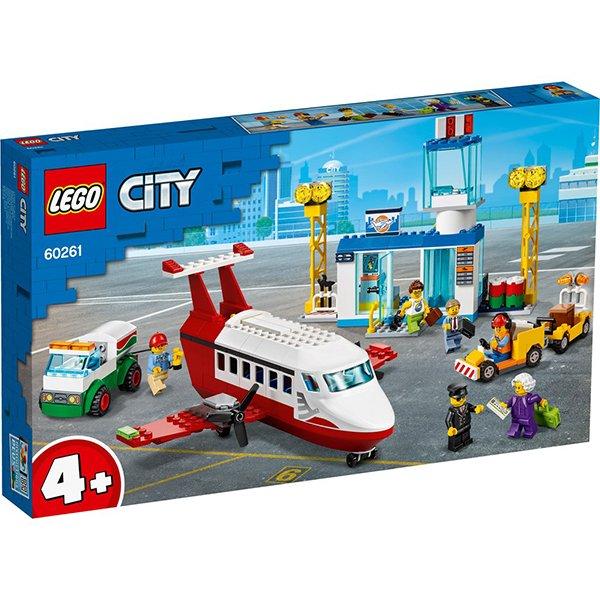 LEGO 樂高積木 City 60261 中央機場