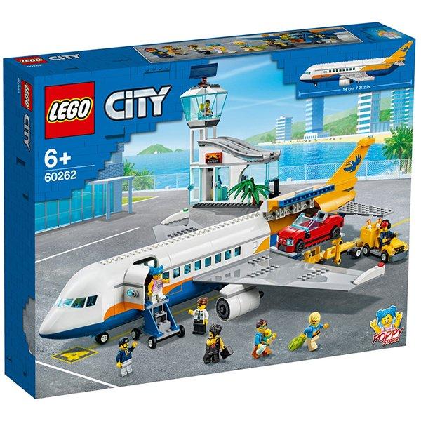 LEGO 樂高積木 City 60262 城市客機