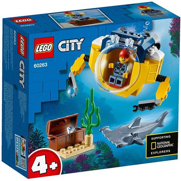 LEGO 樂高積木 City 60263 海洋迷你潛水艇