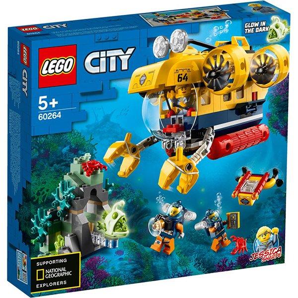 LEGO 樂高積木 City 60264 海洋探索潛水艇