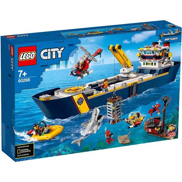 LEGO 樂高積木 City 60266 海洋探索船