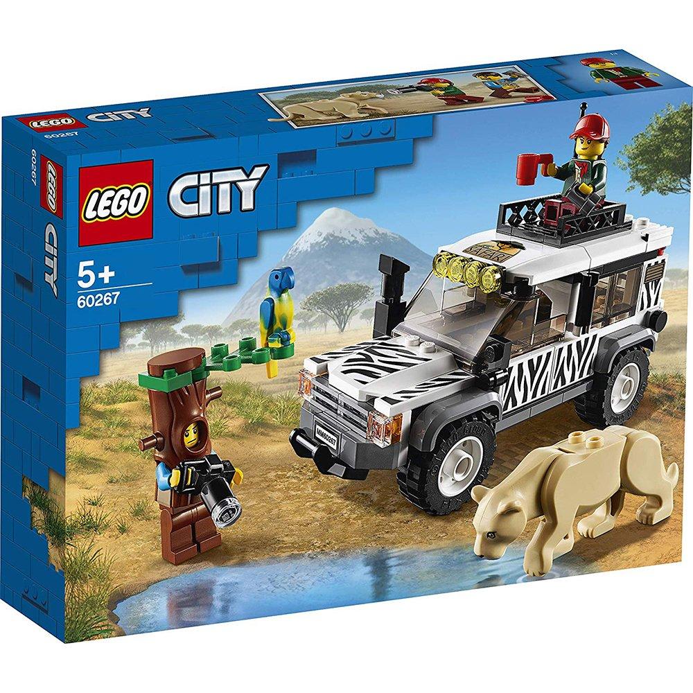 LEGO 樂高積木 City LT60267 野生動物園越野車