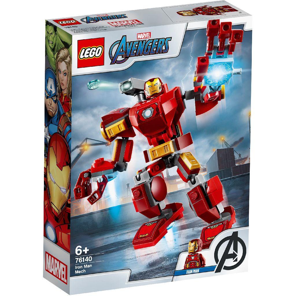 LEGO樂高積木 Super Heroes系列 76140 Iron Man Mech