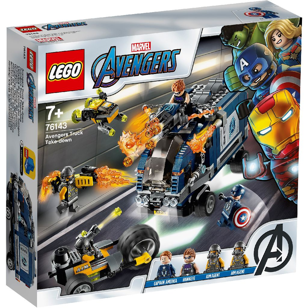 LEGO樂高積木 Super Heroes系列 76143 Avengers Truck Take-down