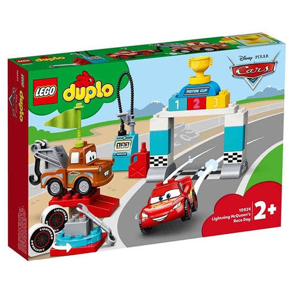 LEGO 樂高積木 DUPLO 10924 Lightning McQueen's Race Day