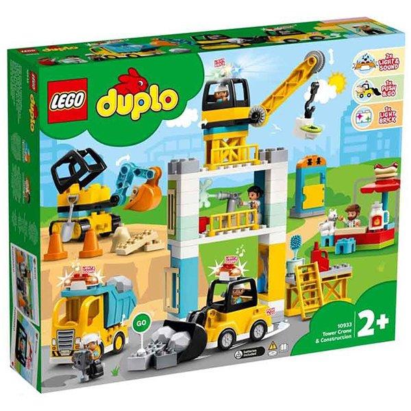 LEGO 樂高積木 DUPLO 10933 起重機 & 建設工程