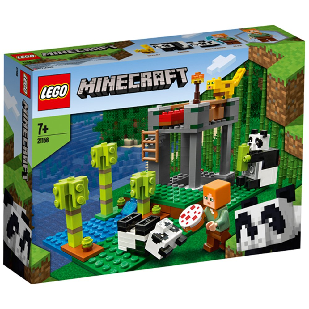 LEGO 樂高積木 Minecraft Micro World 創世神系列 21158 The Panda Nursery