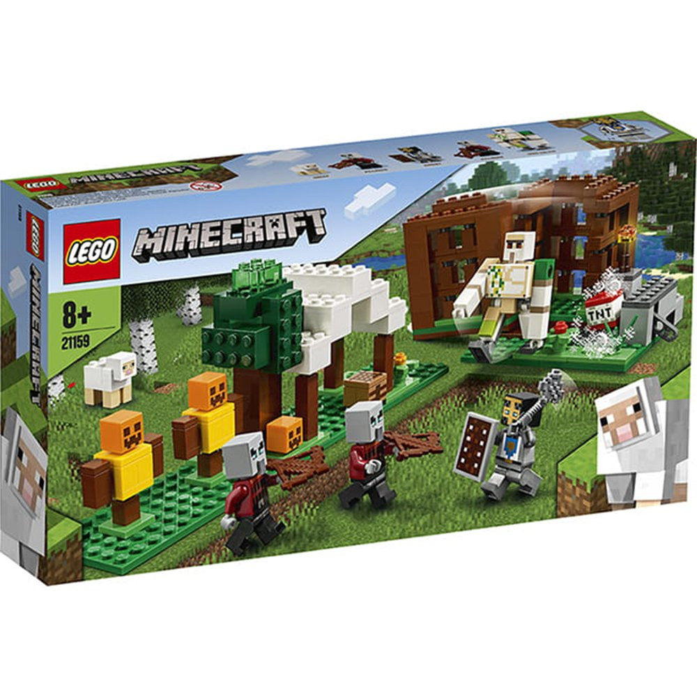 LEGO 樂高積木 Minecraft Micro World 創世神系列 21159 The Pillager Outpost