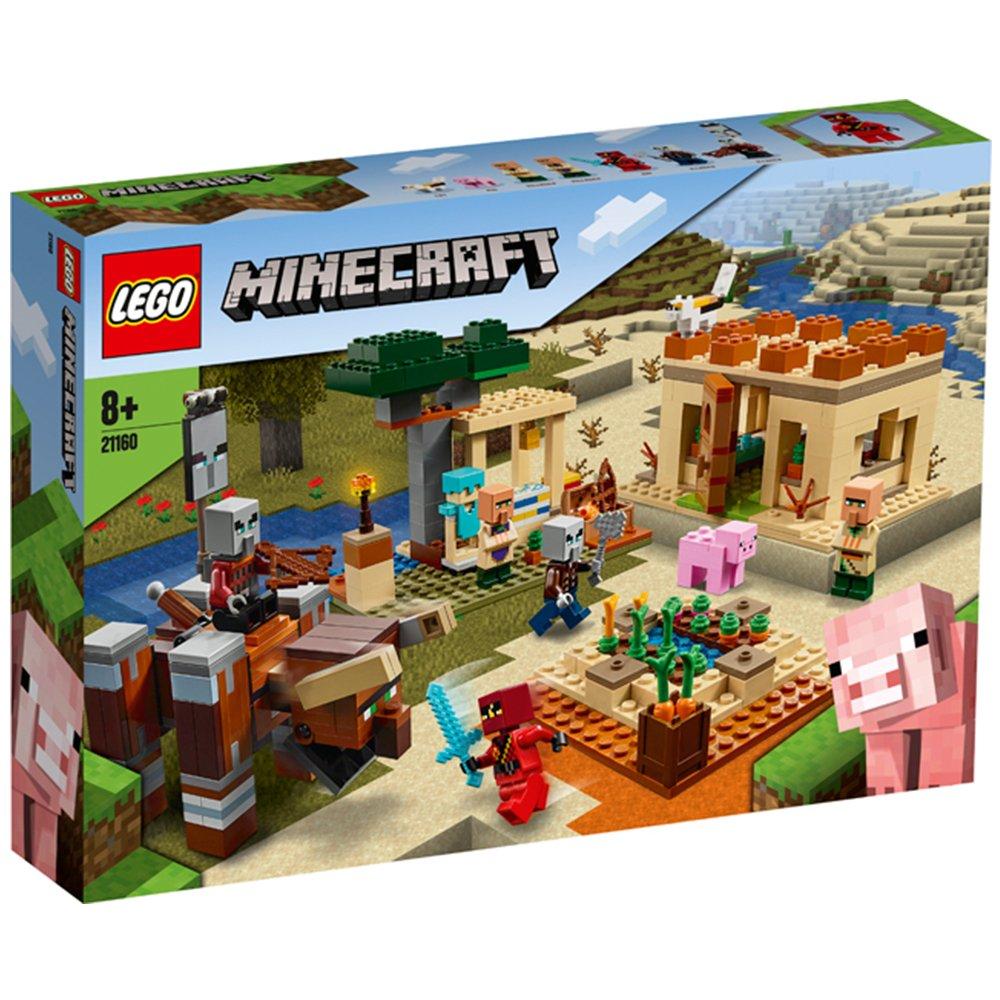 LEGO 樂高積木 Minecraft Micro World 創世神系列 LT21160 窳民突襲