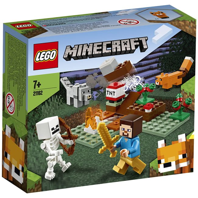 LEGO 樂高積木 Minecraft Micro World 創世神系列 21162 The Taiga Adventure