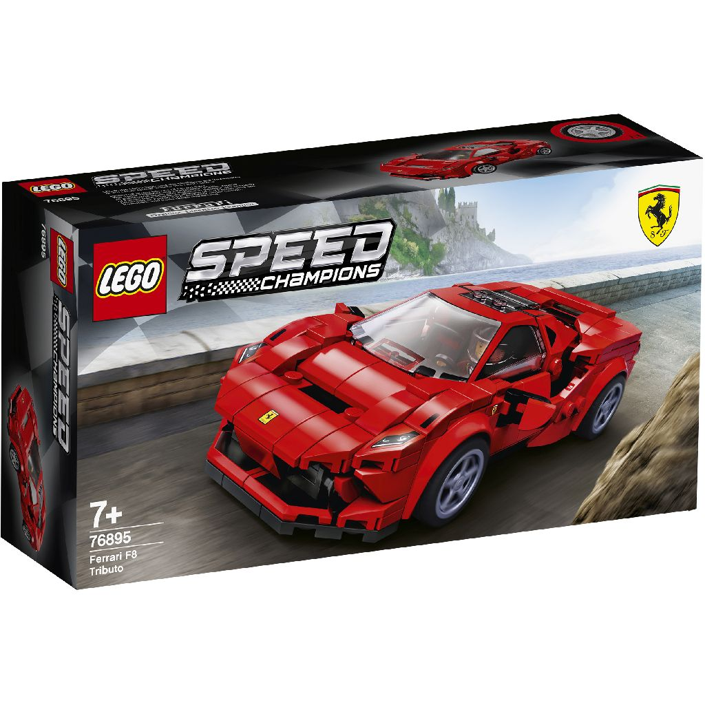 LEGO 樂高積木 Speed Champions 76895 Ferrari F8 Tributo