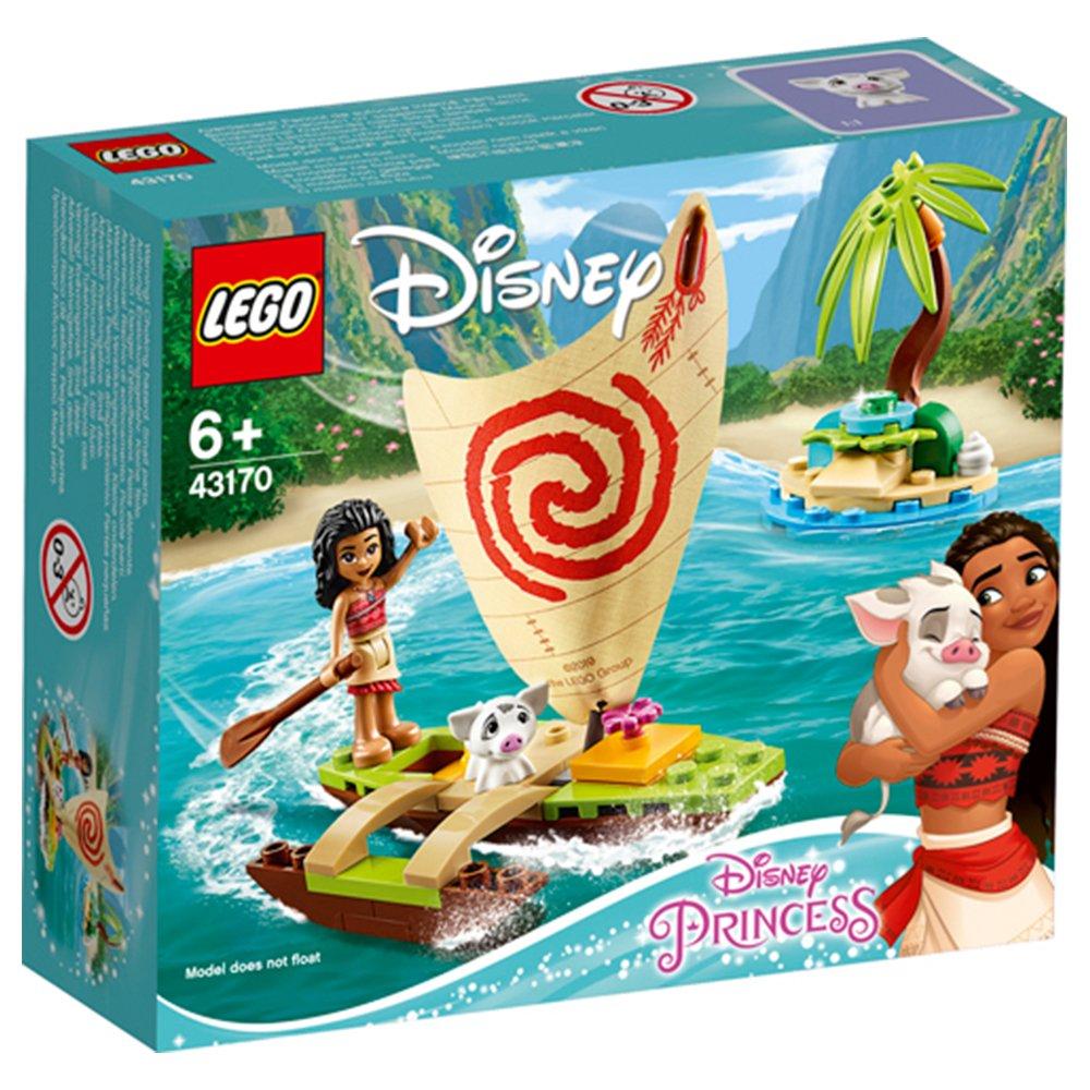 LEGO 樂高積木 Disney Princess 43170 莫娜的海洋歷險