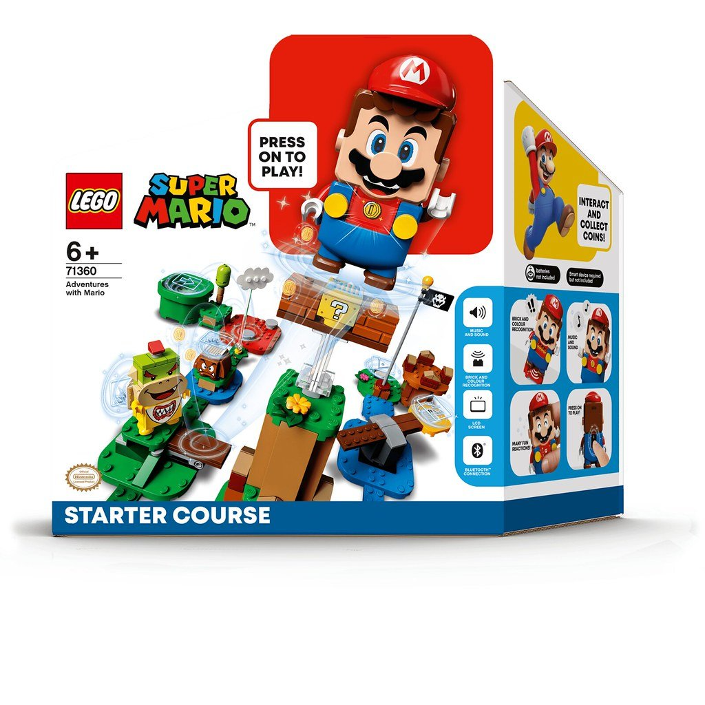 LEGO樂高積木Super Mario超級瑪利歐71360瑪利歐冒險主機