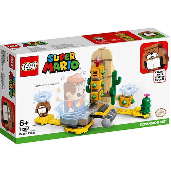 LEGO樂高積木Super Mario超級瑪利歐71363沙漠刺球丸子