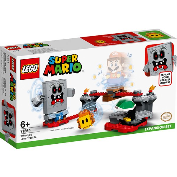 LEGO樂高積木Super Mario超級瑪利歐71364砰砰的熔岩之亂