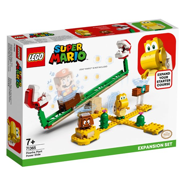 LEGO樂高積木Super Mario超級瑪利歐71365吞食花翹翹板