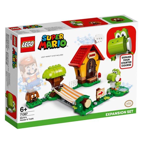 LEGO樂高積木Super Mario超級瑪利歐71367瑪利歐之家 & 耀西
