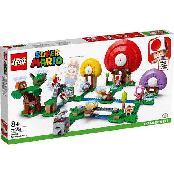LEGOSuper Mario超級瑪利歐71368奇諾比奧的尋寶之旅
