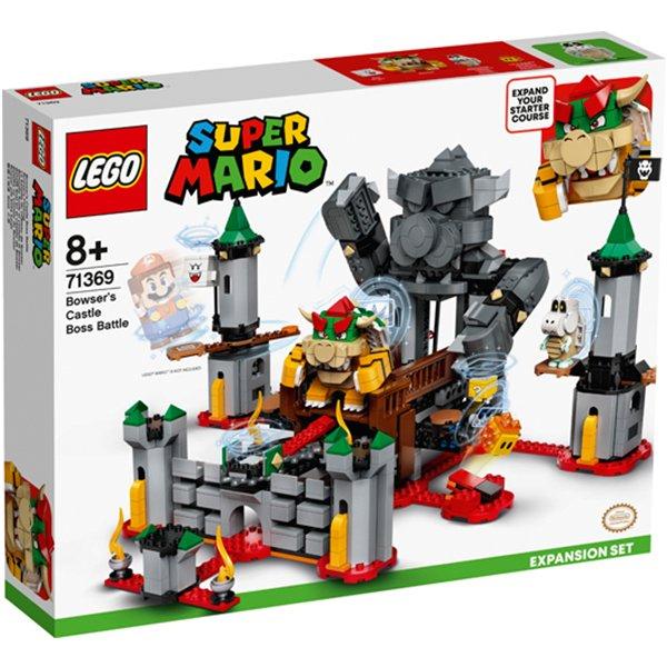 LEGO樂高積木Super Mario超級瑪利歐71369庫巴魔王的城堡對決