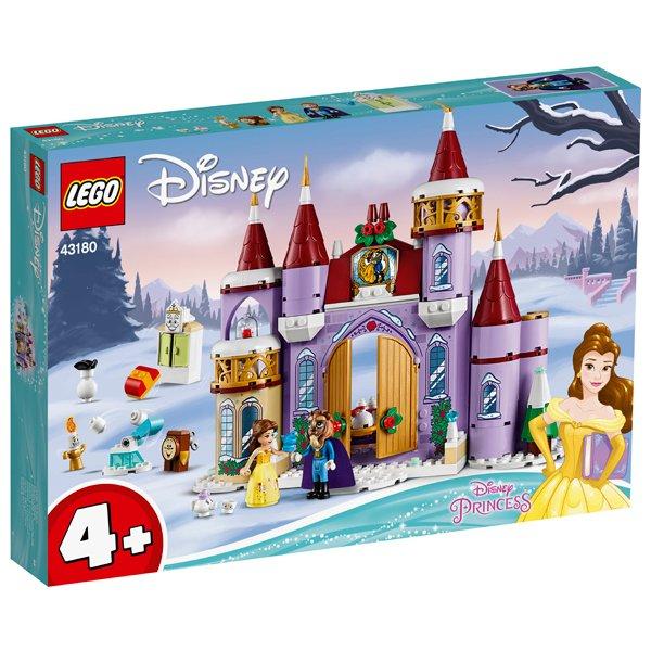 LEGO 樂高積木 Disney Princess 43180 貝兒的城堡冬季慶典