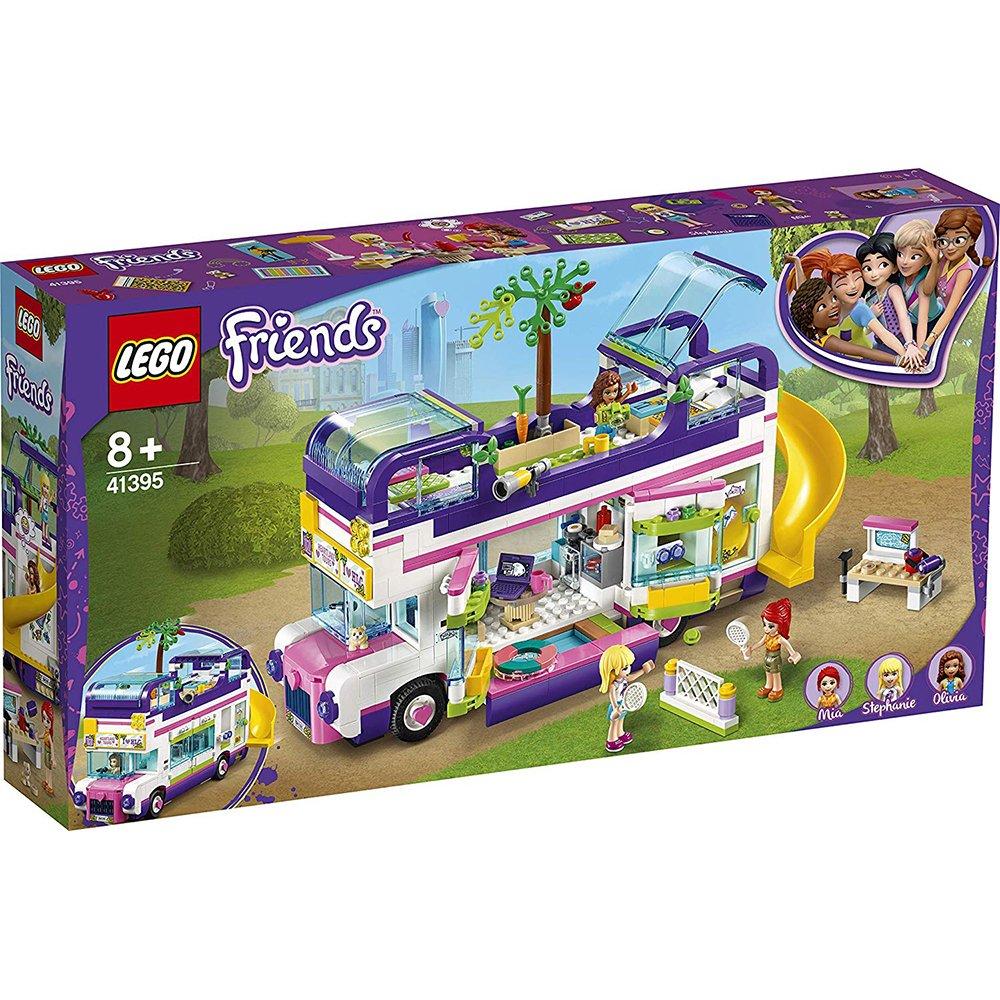 LEGO 樂高積木 Friends 41395 友誼巴士