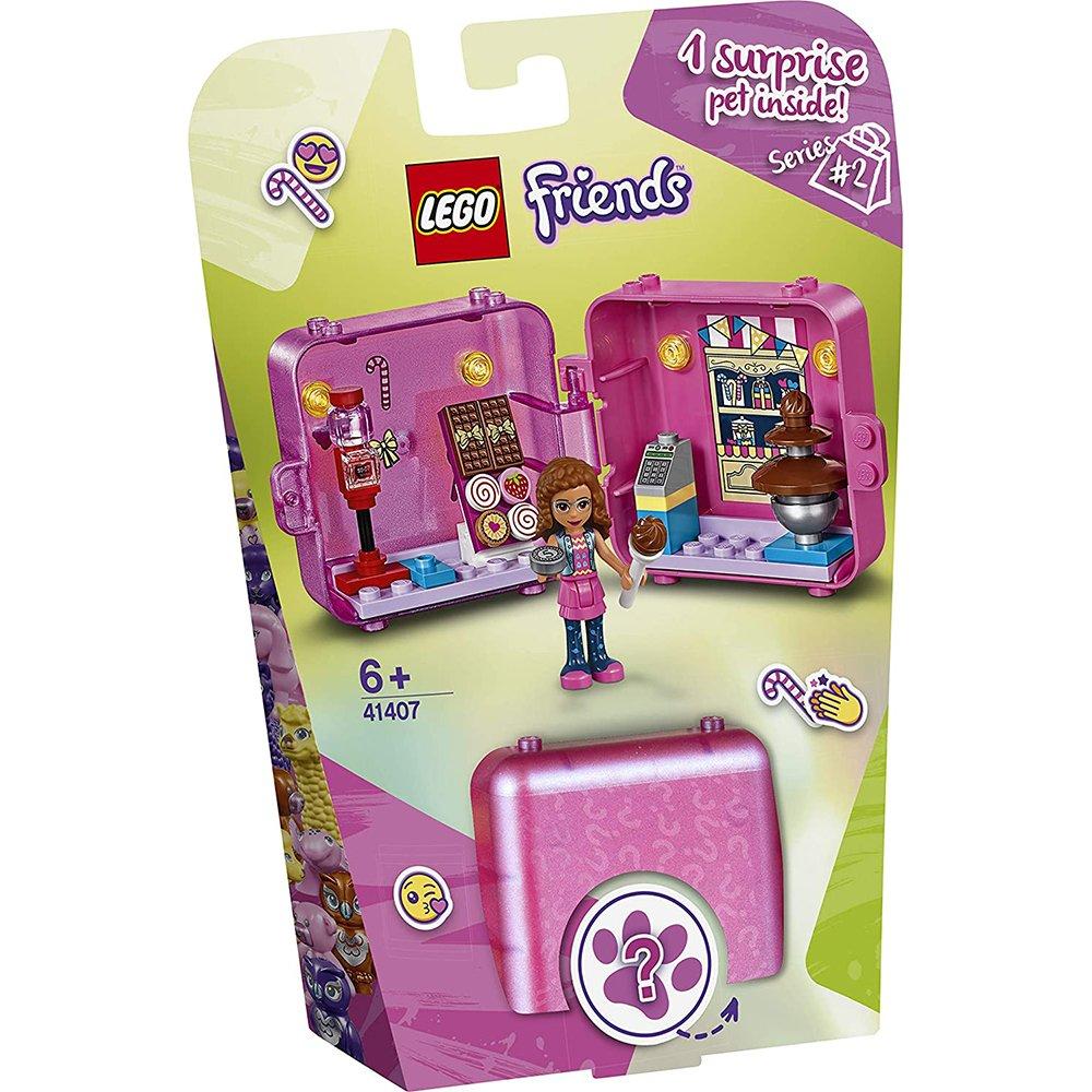 LEGO 樂高積木 Friends 41407 購物秘密寶盒 奧麗薇亞