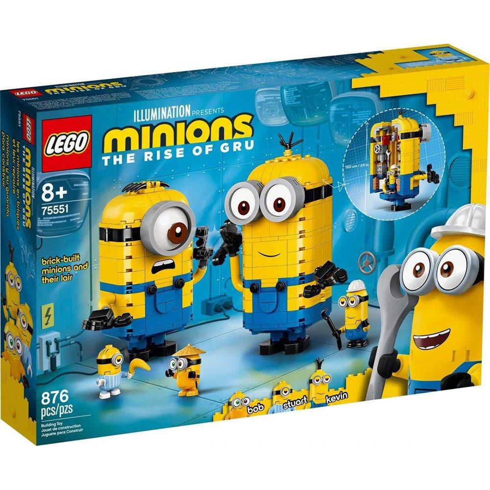 樂高積木 LEGO Minions 小小兵 75551 磚拼小小兵與他們的基地