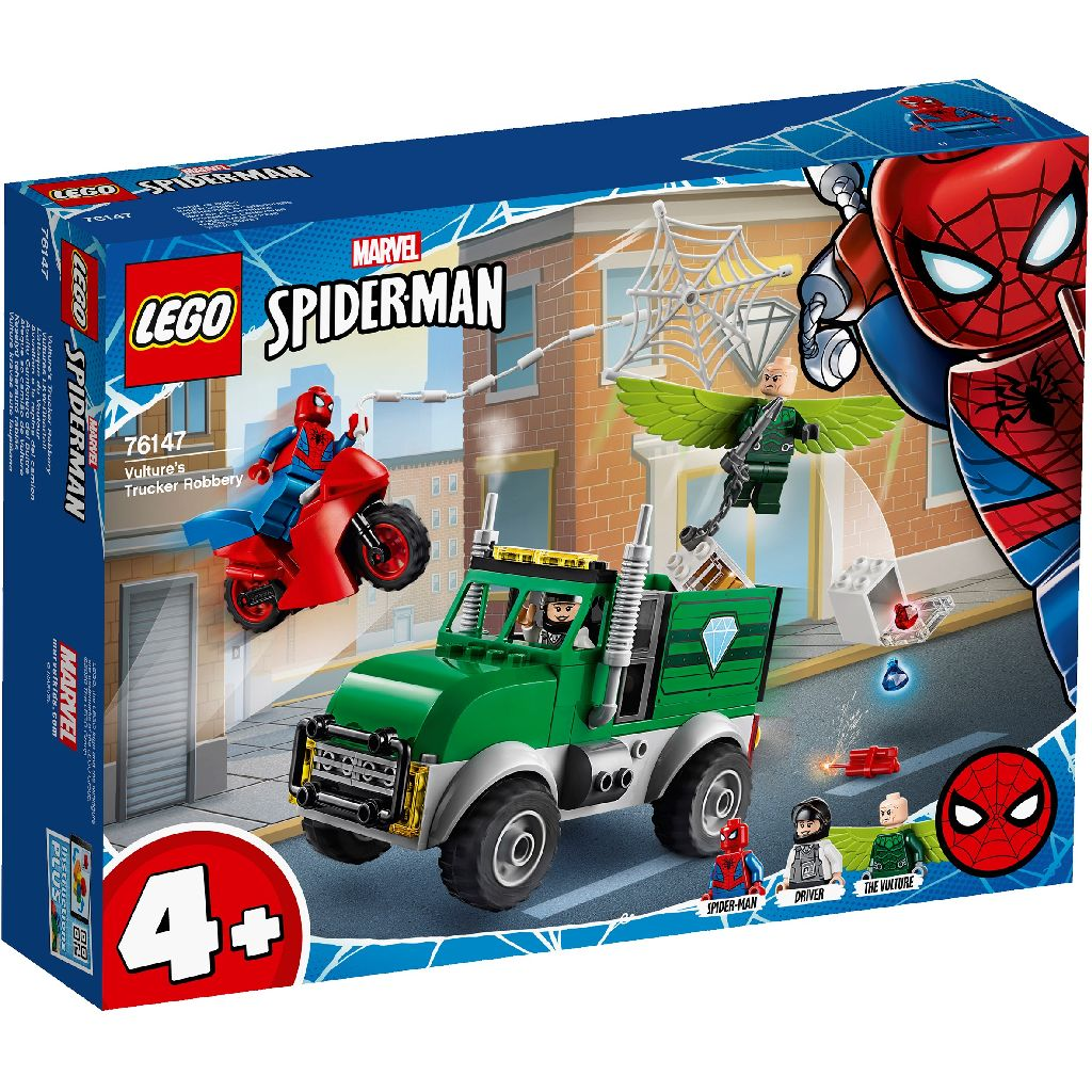 LEGO樂高積木 Super Heroes系列 76147 Vulture's Trucker Robbery