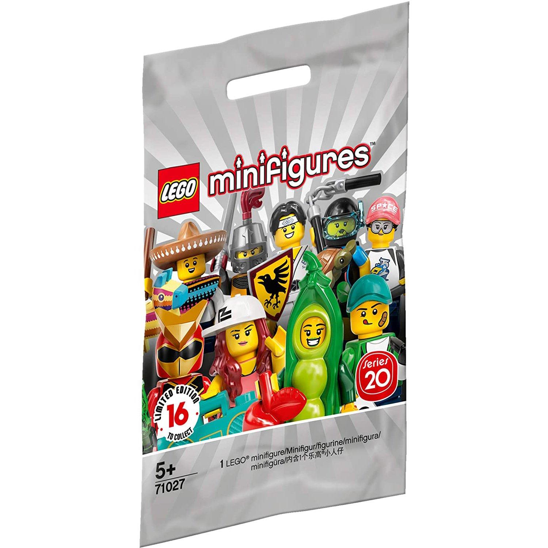 樂高積木 LEGO Minifigures 人偶抽抽樂 LT71027 第20代 (單包)