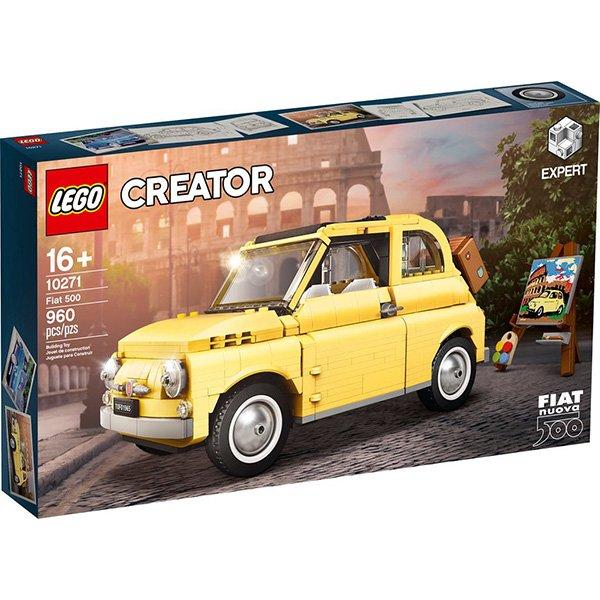 LEGO 樂高積木Creator Expert 10271 飛雅特Fiat 500 V29