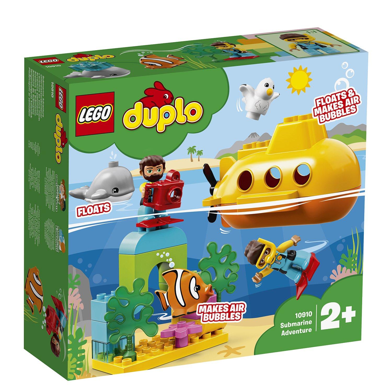 LEGO 樂高積木 DUPLO Town 10910 潛水艇探險