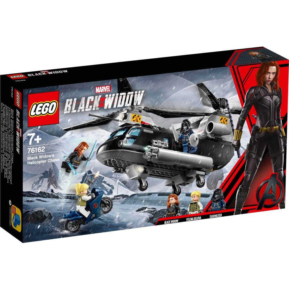LEGO樂高積木 Super Heroes系列 LT76162 Black Widow's Helicopter Chase
